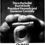 "Advertisement for ""CBS Inquiry: The Warren Report,"" in the Washington Post, June 25, 1967."