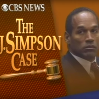 "Still image of the CBS Special ""The O.J. Simpson Case."""
