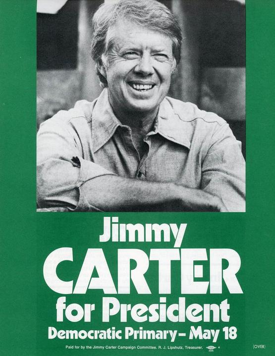 Campaign flyer from Democratic Party presidential primary.
