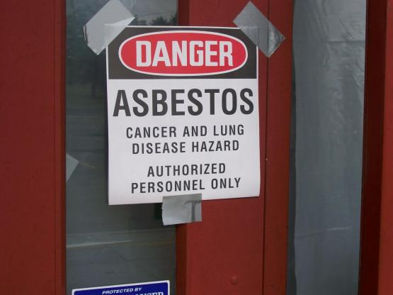 Ktorbeck. Photo of Bauer Elementary, Miamisburg, Ohio. Asbestos Warning!
