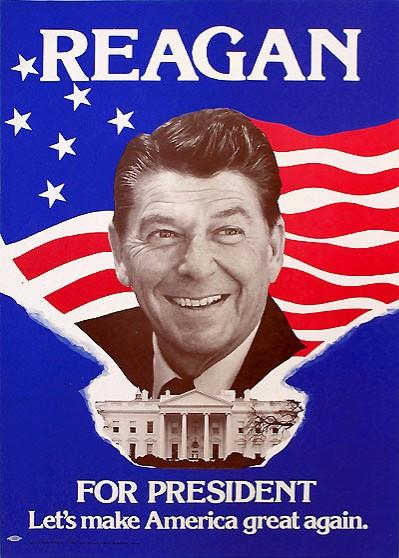 1980 Election Poster for Ronald Reagan