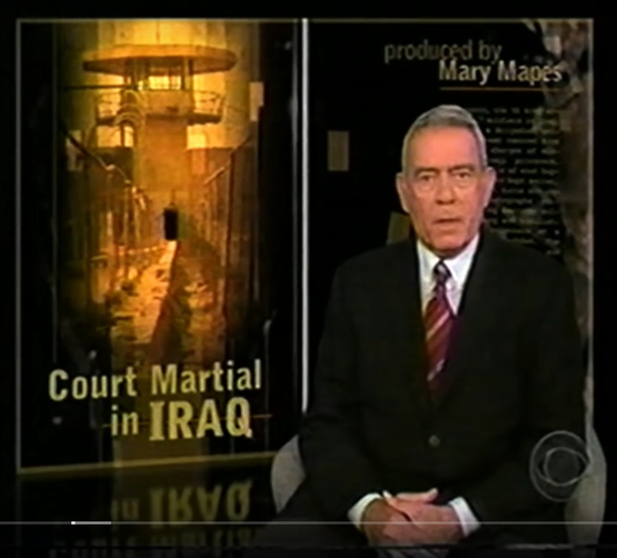 "Still Image - Opening of ""Court Martial in Iraq (Abu Ghraib)"""