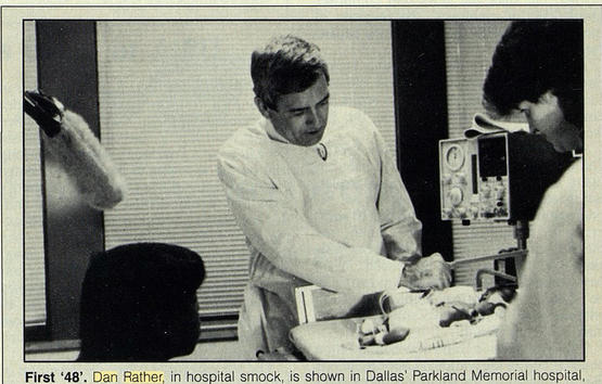 "Dan Rather in ""48 Hours Hospital"""