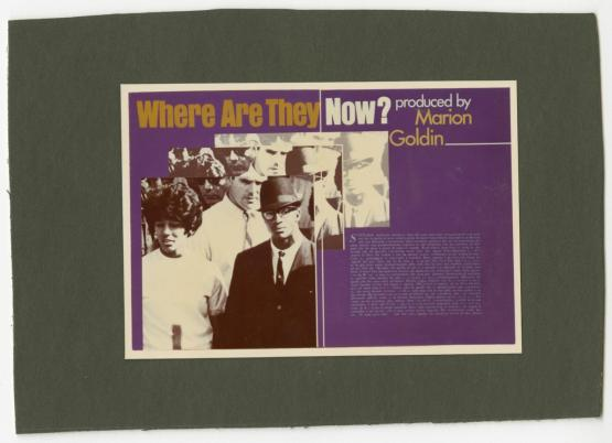 "Title Card - CBS's ""Where Are They Now?"""